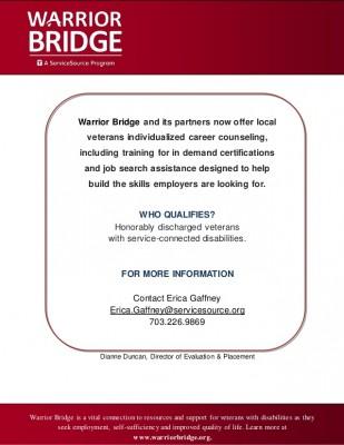 Warrior Bridge (All of VA)