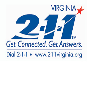 2-1-1 Virginia is a free service that can help you find the local resources you need.